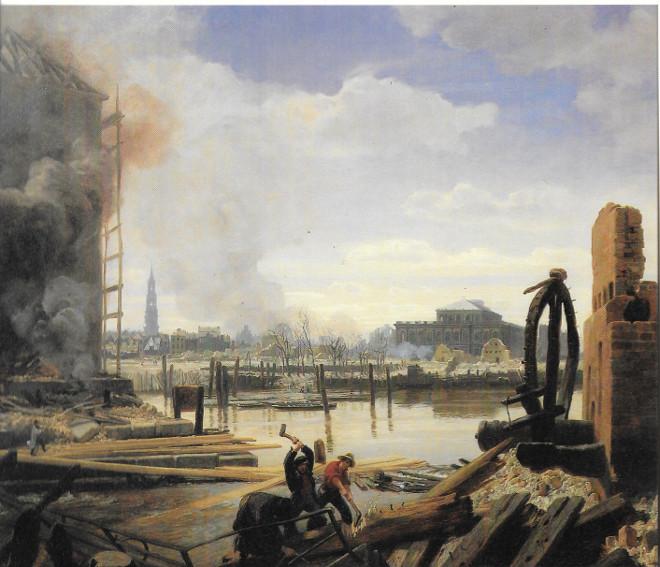 Hamburg nach dem Brand