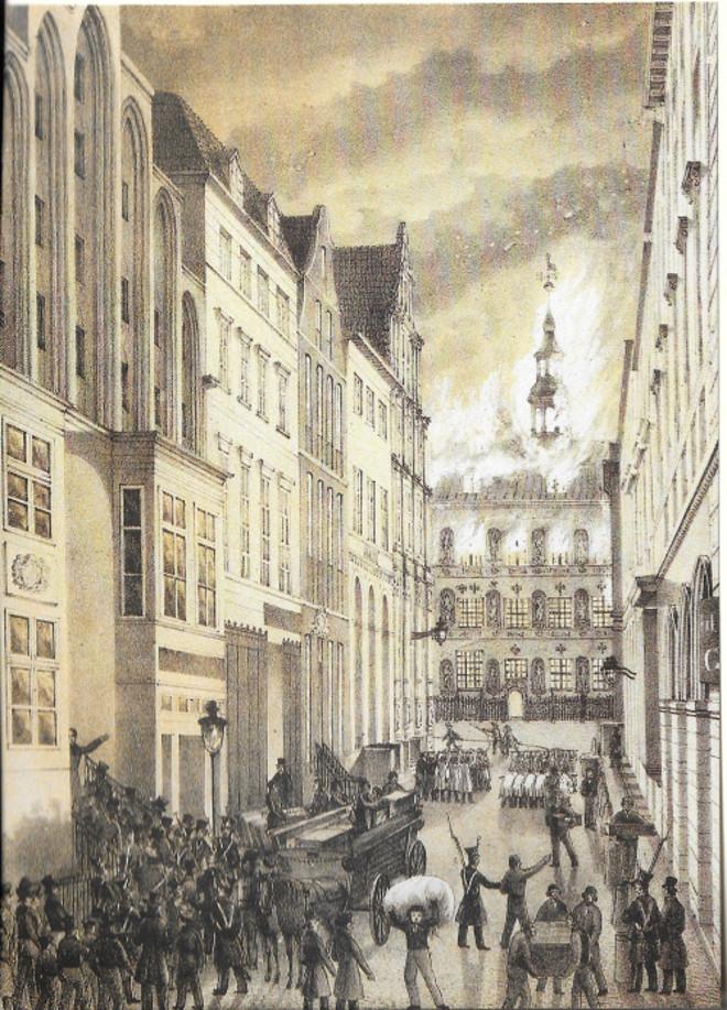 Rathaus und Bank